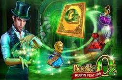 Book of Oz Spillemaskine